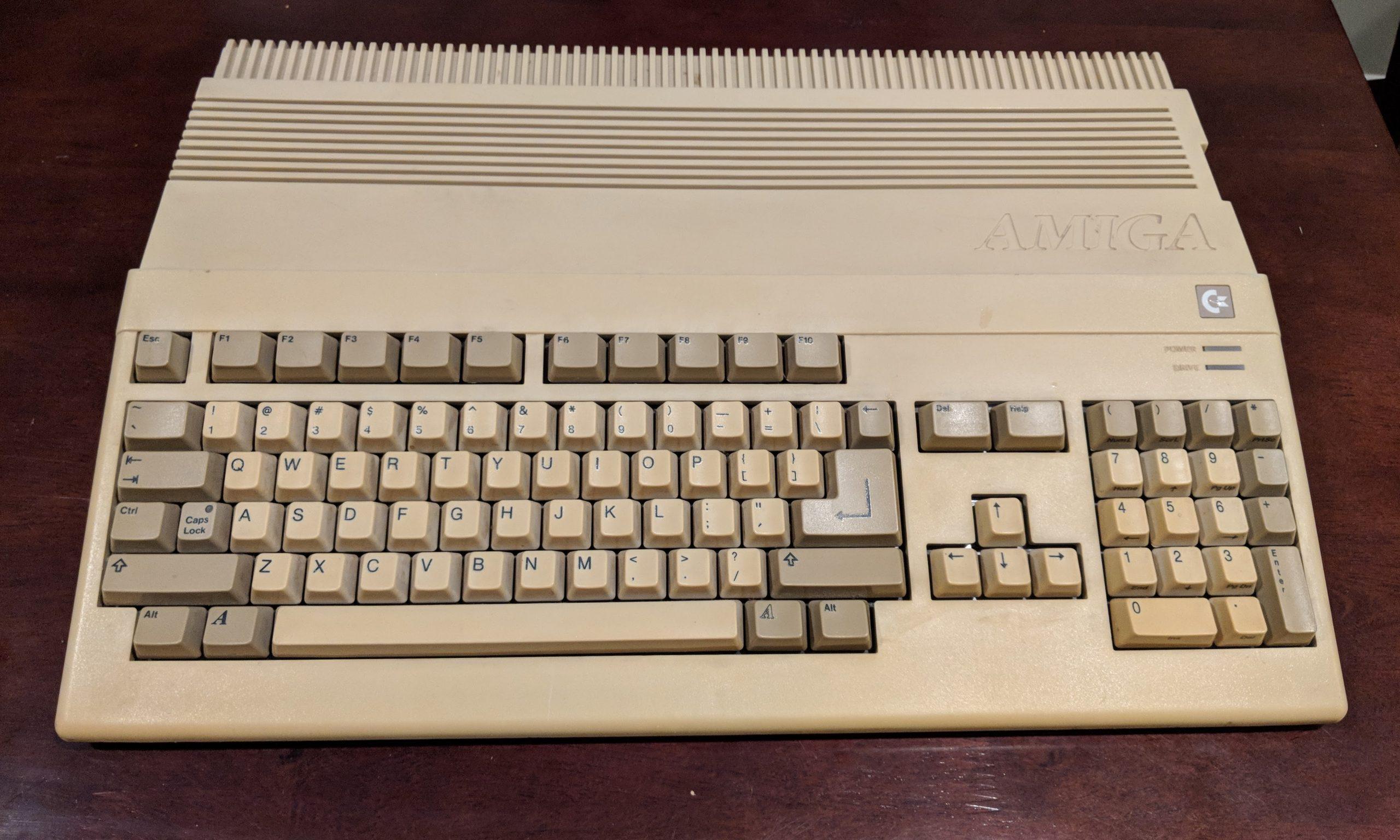Commodore Amiga 500, disconnected